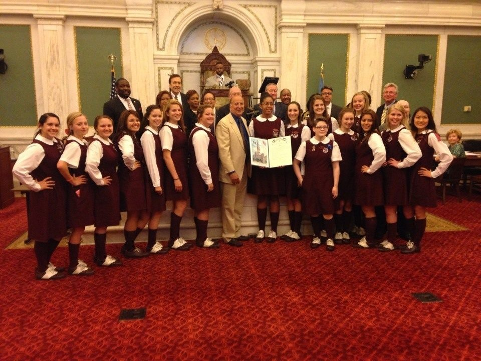 Little Flower Catholic High School honored by Philadelphia City Council
