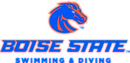 Boise State University Swimming Logo