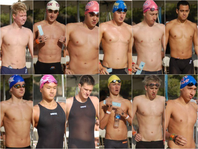 Swimmers 75-89. Photos: Anne Lepesant