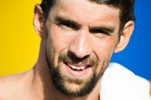 Michael Phelps by Mike Lewis-15