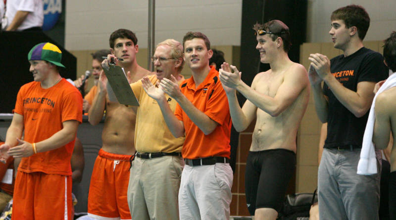 Princeton men s swimming and diving introduces impressive - Princeton university swimming pool ...