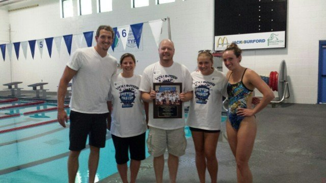 Richmond, KY - Adam Brown and Claire Donahue with hosts of the clinic