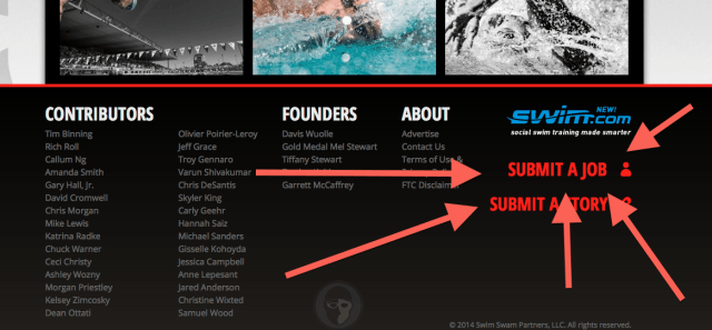 Submit A Job, Swim Jobs