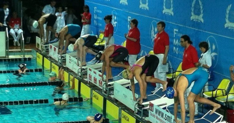 Deibler Goes 52.86 for Top Seed in Men's 100 Fly Prelims on Monaco Day 2