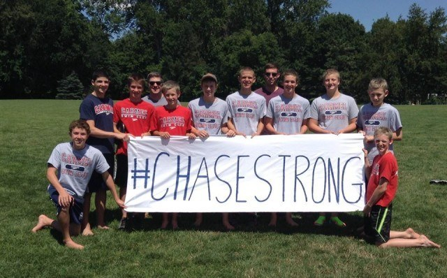 #ChaseStrong (Photo Courtesy of The Smith Family and the #ChaseStrong Facebook Group)