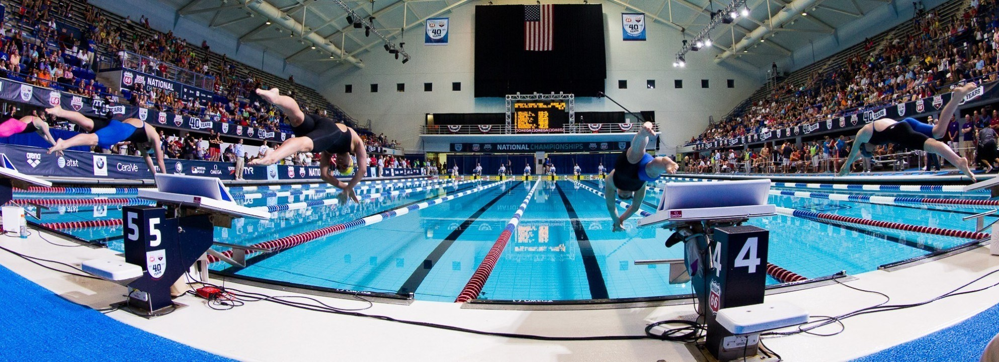Asia Seidt Breaks Two NCSA Jr National Records, Doubles Up On Day One