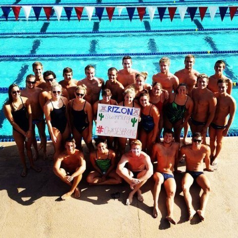 Arizona Wildcats #ChaseStrong (Photo Courtesy of The Smith Family and the #ChaseStrong Facebook Group)