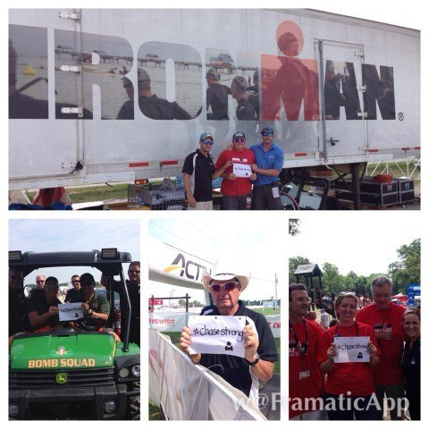 Muncie Ironman #ChaseStrong (Photo Courtesy of The Smith Family and the #ChaseStrong Facebook Group)