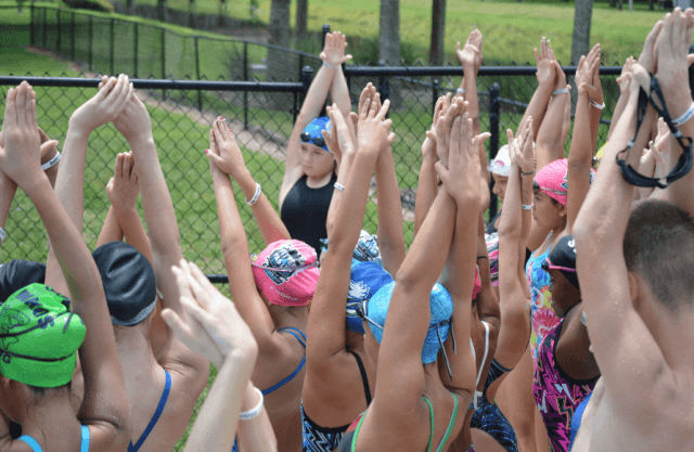 Fitter & Faster Swim Tour, Hialeah, FL: streamline!