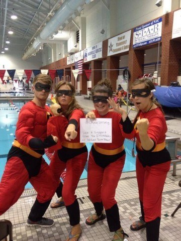 Wildwood Gators Swim Team is  #ChaseStrong (Photo Courtesy of The Smith Family and the #ChaseStrong Facebook Group)
