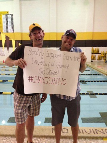 Wyoming #ChaseStrong (Photo Courtesy of The Smith Family and the #ChaseStrong Facebook Group)