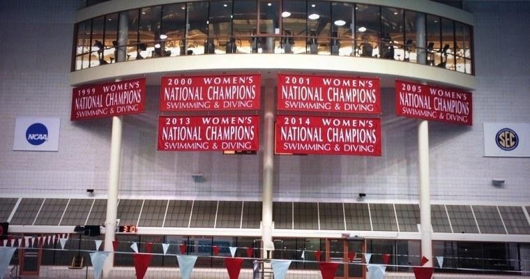 Georgia Hangs Banner for 6th Women's NCAA Swimming Championship