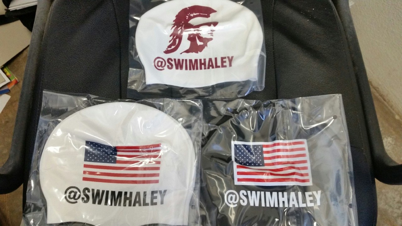 Haley Anderson to Swim With Her Twitter Handle, Not Her Name, on Her Cap at Nationals