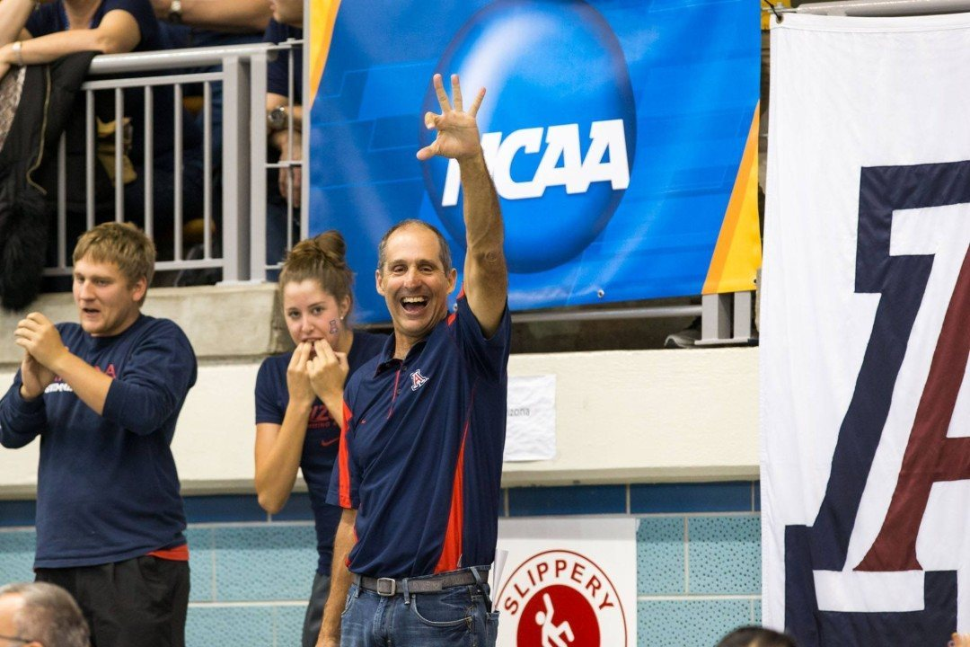 Arizona Sets School Record in Fast 200 MR Time Trial at Texas Invite