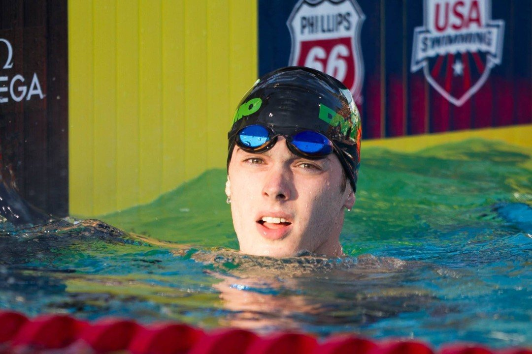 Bentz, Wallace Scratch 200 Free to Set up Epic 400 IM Race on Day 3 at 2015 SEC's