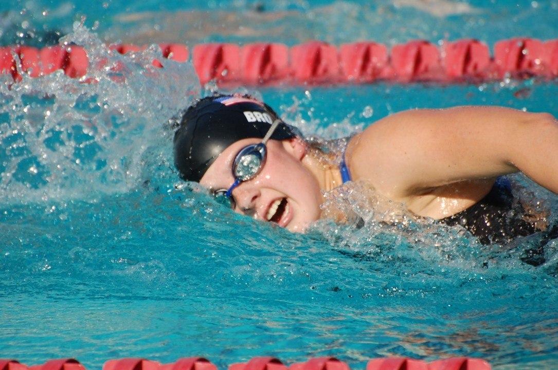 Paralympian Brickelle Bro Breaks Two American Records in One Swim