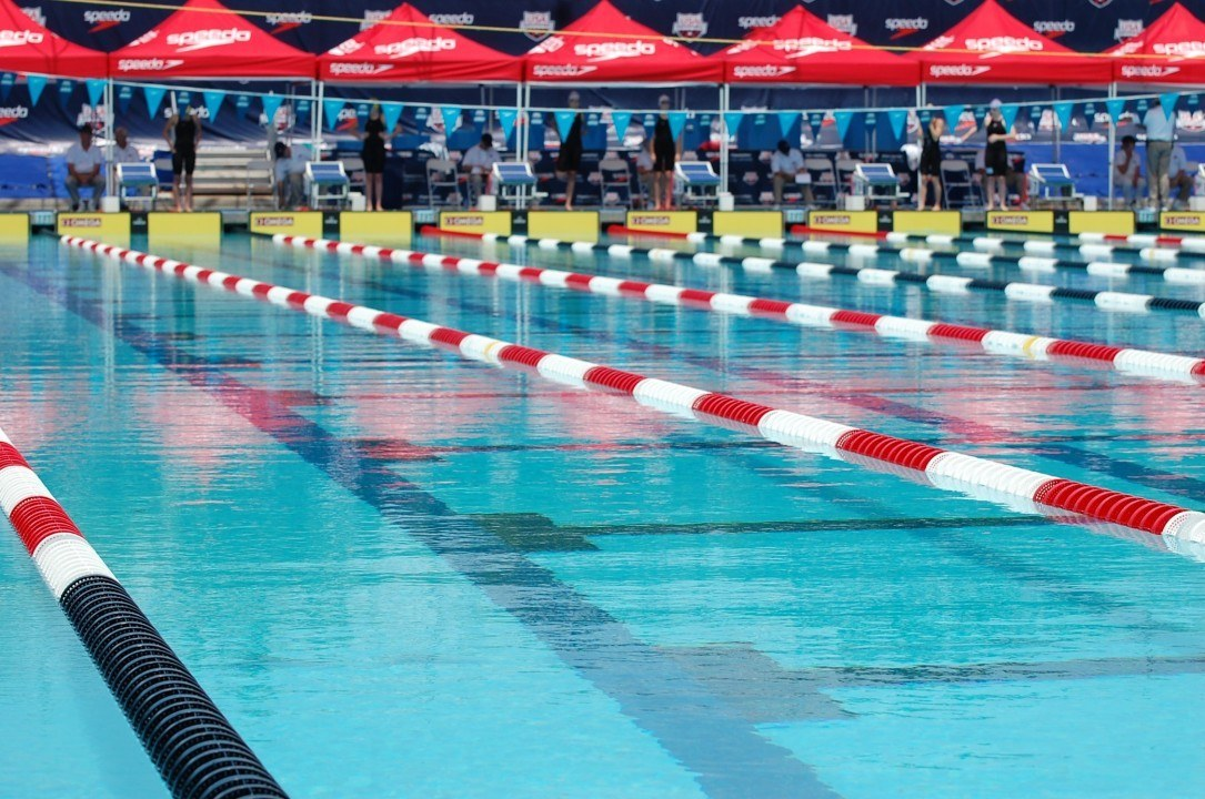 Why is a Swimming Mile only 1650 Yards?