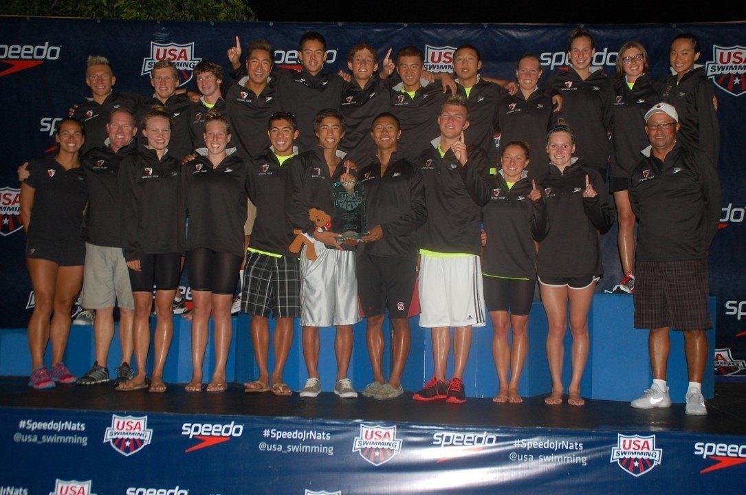 PASA Boys, Carmel Swim Club Girls, Win Team Titles at 2014 Junior Nationals