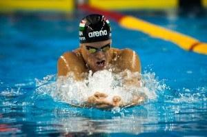 Retraite de Daniel Gyurta, Hongrie, champion Olympique du 200 brasse à Londres en 2012
