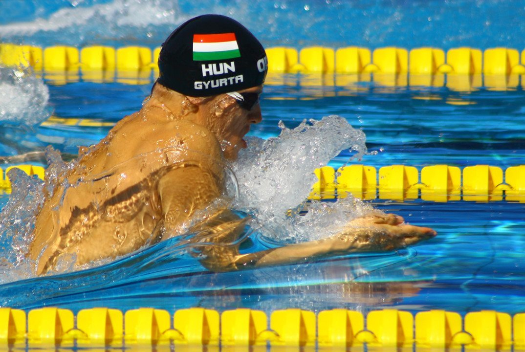 Hungarian Nationals: Gyurta Swims Easy 2:10 In 200 Breast Semifinal