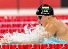 Daniel Gyurta HUN  - FINA Mastbank Swimming World Cup 2014 Dubai, UAE  2014  Aug.31 th - Sept.1st Day1 - Aug. 31 heats Photo G. Scala/Deepbluemedia