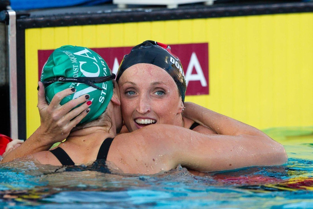 Claire Donahue and Coach Bruce Marchionda To Make Permanent Move To South Florida Aquatic Club