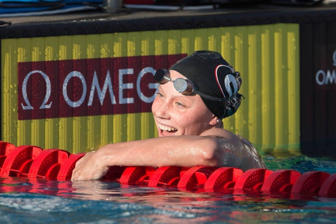 NCAA Psych Sheet: Top 400 IM Returner Hali Flickinger Chooses 200 Free