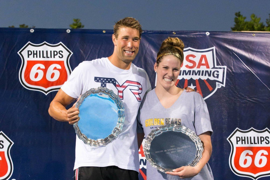 "Franklin & Grevers Win High Point Awards, Ledecky Gets ""Performance Award"" at 2014 Nationals"