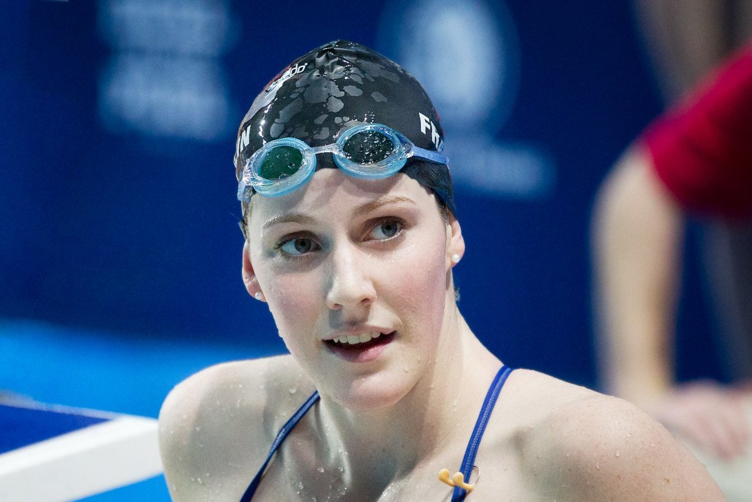 Missy Franklin Subtly Makes First Endorsement As A Professional Swimmer