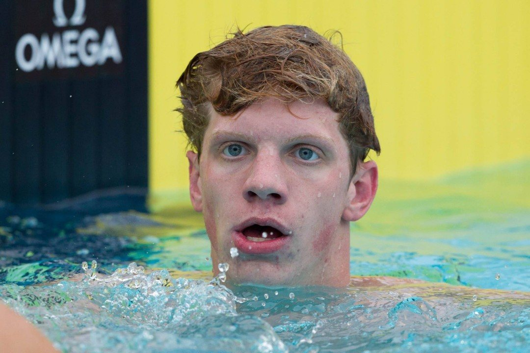RACE VIDEO: Watch Townley Haas Win His 4th Junior National Championship of 2014 in 800 Free