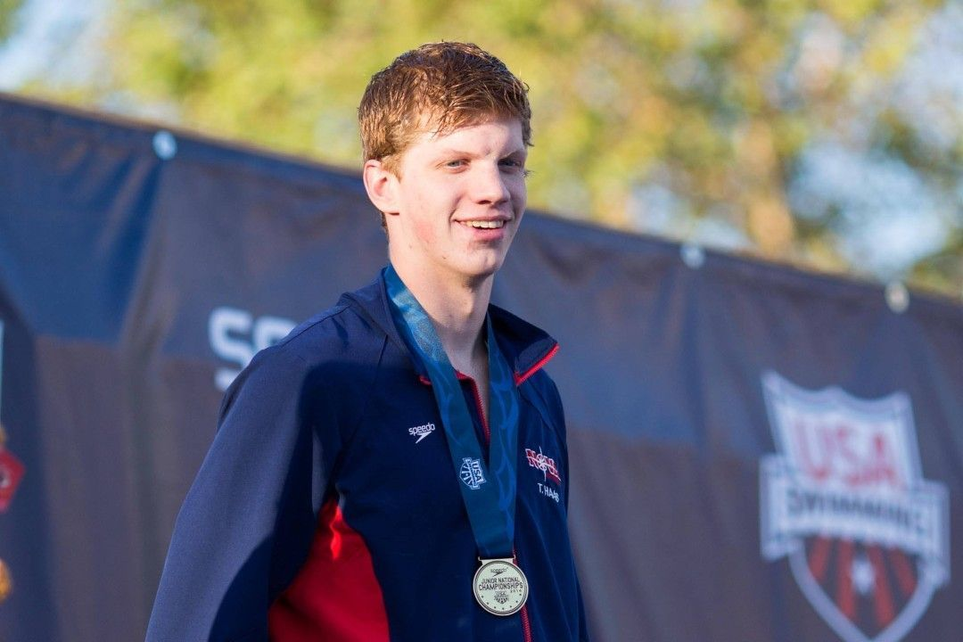 RACE VIDEO: Watch Townley Haas Repeat as Junior National Champion in Men's 400 Free