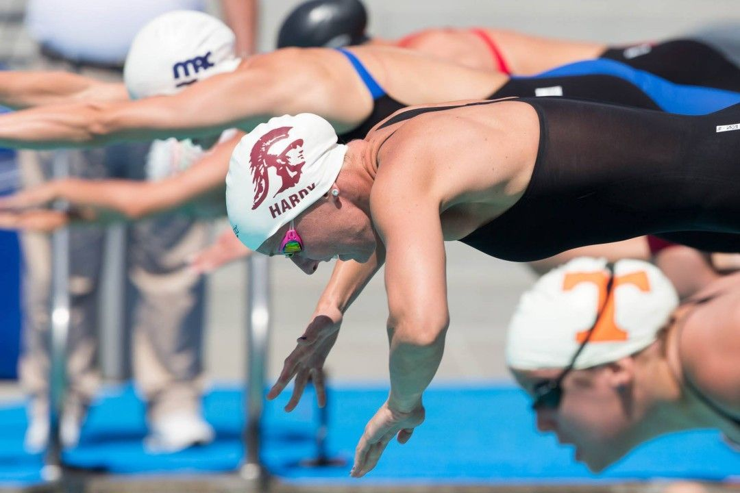 Race Video: Jessica Hardy Swims Second Fastest Time in the World in the Women's 50 m Breast
