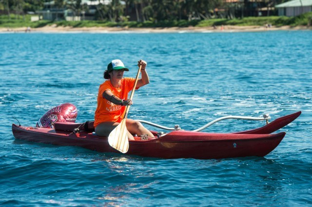 Maui's safety crew was great covering the course (photo: Mike Lewis, Ola Vista Photography)