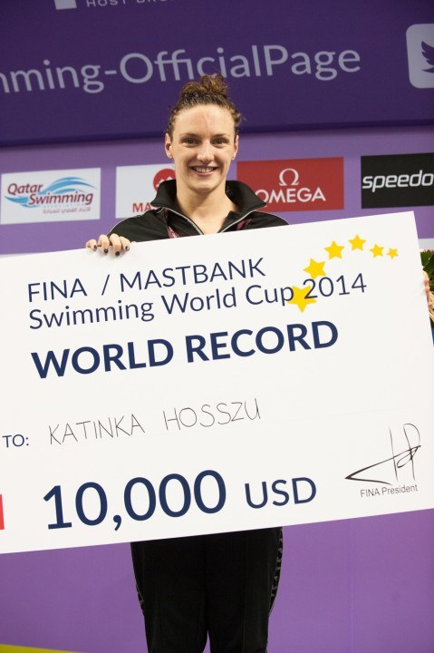 Katinka Hosszu Proving That Swimmers Can Make Pro-Athlete Wages