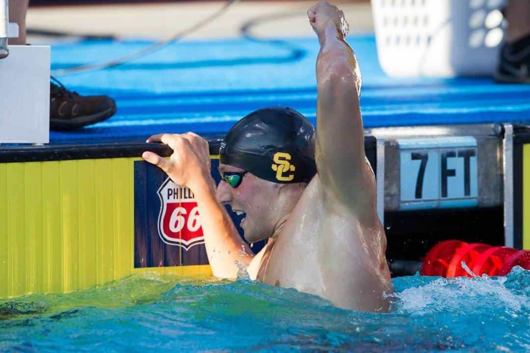 College Swimming Previews: Can New-Look #4 USC Men Defend Relay Dominance
