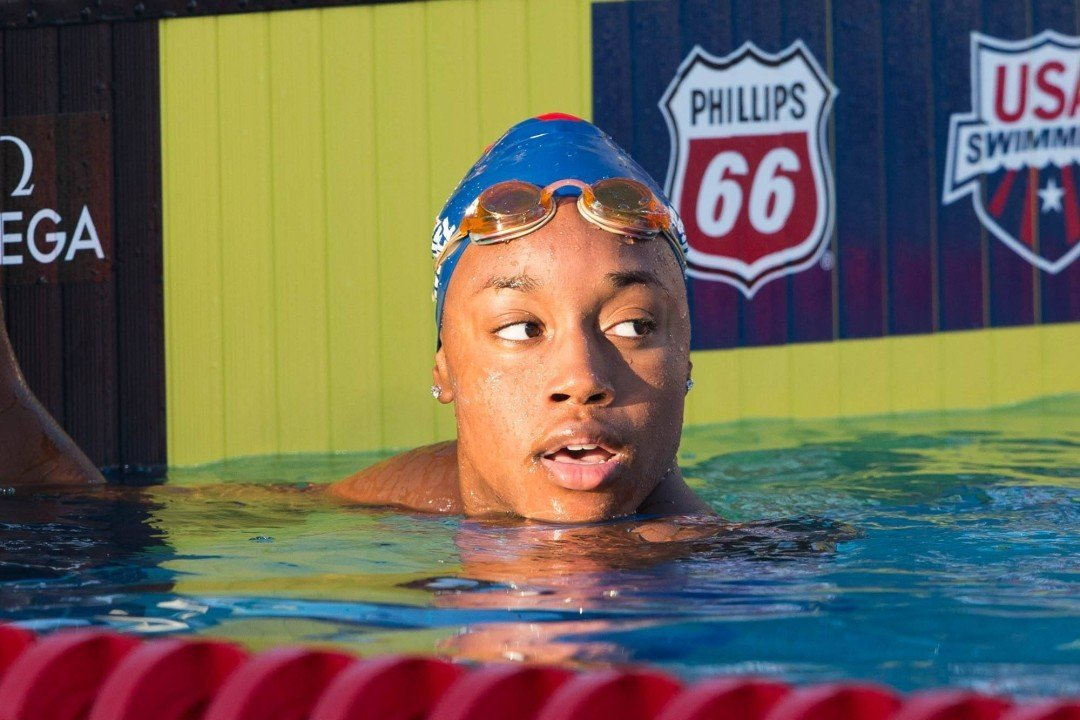 Simone Manuel on being Katie Ledecky's Roommate & how she learned Ledecky was going to Stanford