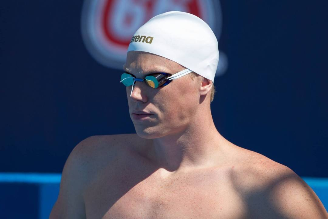 Race Video: An Improbable Relay Assembled in Men's 200 Free Final