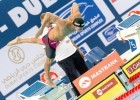 Roland SCHOEMAN RSA 50 Breaststroke men FINA Mastbank Swimming World Cup 2014 Dubai, UAE  2014  Aug.31 th - Sept.1st Day1 - Aug. 31 heats Photo G. Scala/Deepbluemedia