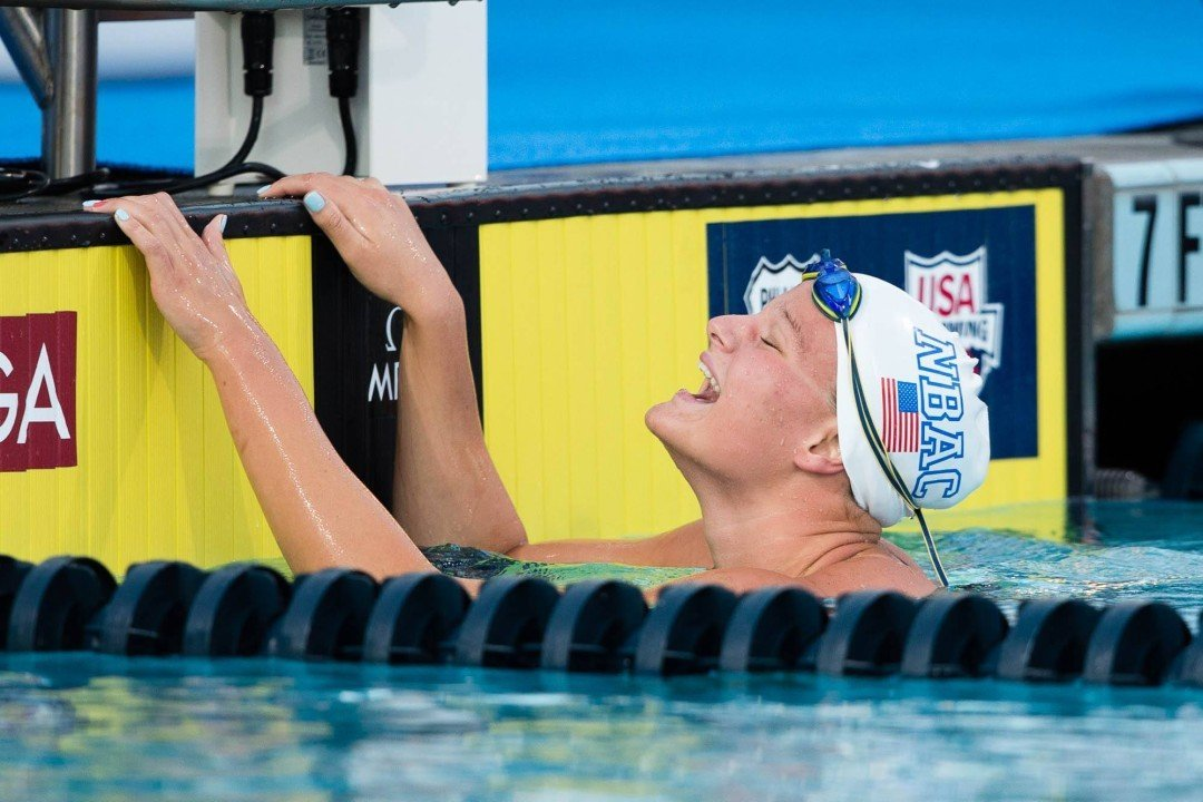 10 Things We Noticed on Day 4 of the 2014 U.S. National Championships: Cierra With a Special Swim for Second