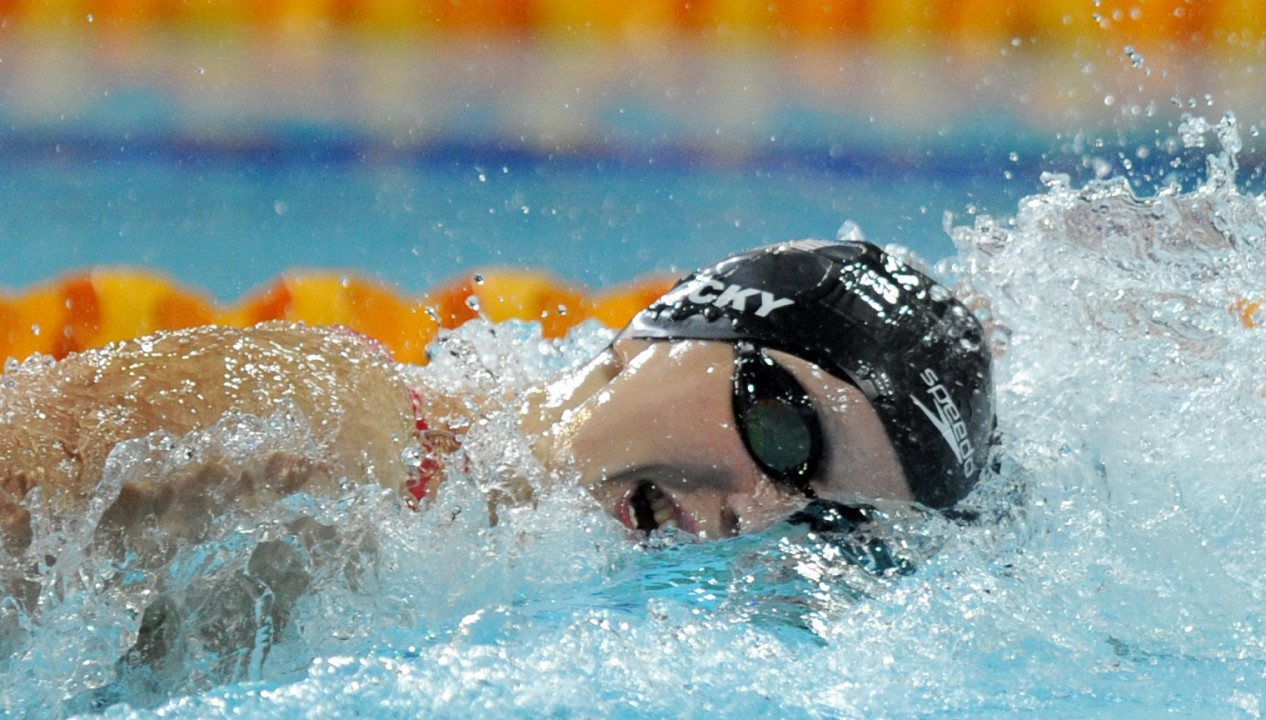 RACE VIDEO: Watch Katie Ledecky shatter the world record in the 1500 free at Pan Pacs