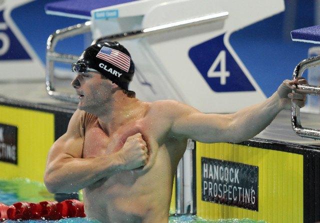 Tyler Clary, 2014 Pan Pacific Championships (courtesy of Scott Davis)