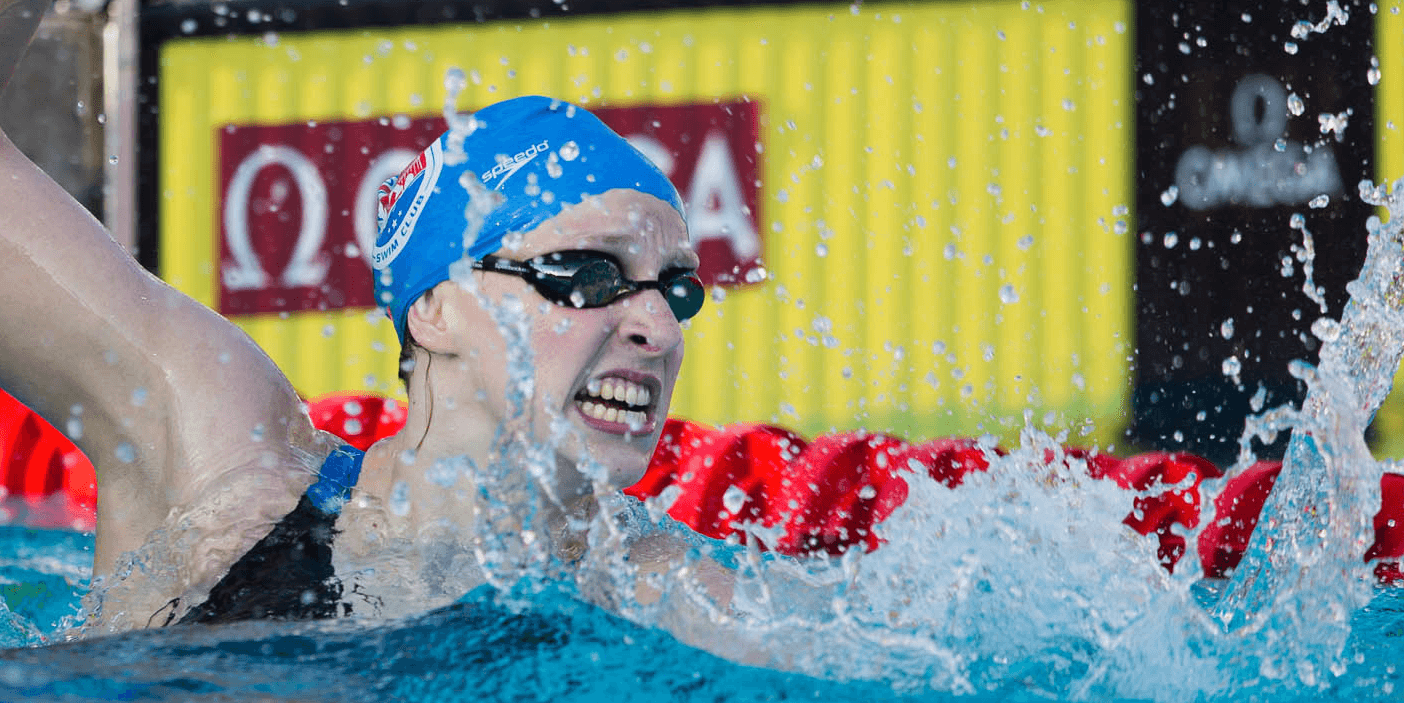 Katie Ledecky Breaks Two Meet Records, One All-Comers Record, And Dances With World Record At 2014 Pan Pacs