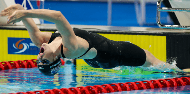 Missy Franklin, 2014 Pan Pacs (courtesy of Paul Younan)