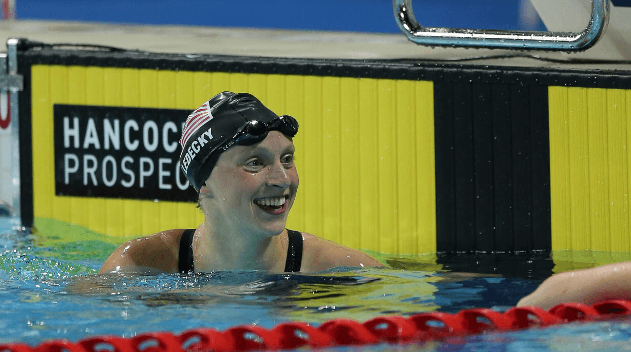 Katie Ledecky Swims Smooth 1:58 200 Free in Prelims of Indiana Senior Circuit Meet