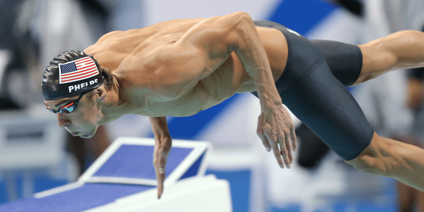 Michael Phelps Swims 42.17 in 100 Free Exhibition at American Short Course Champs