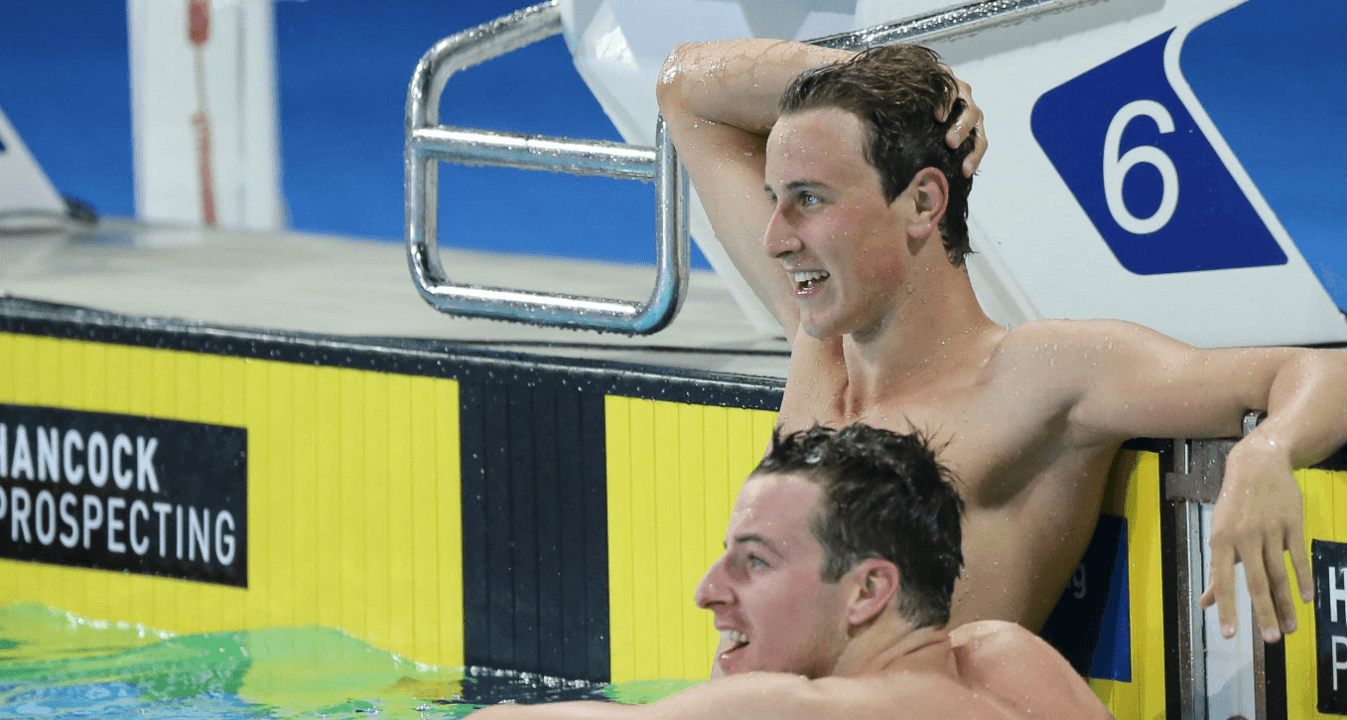 McEvoy's Coach Says 47.56 Was Untapered, After Tough Training