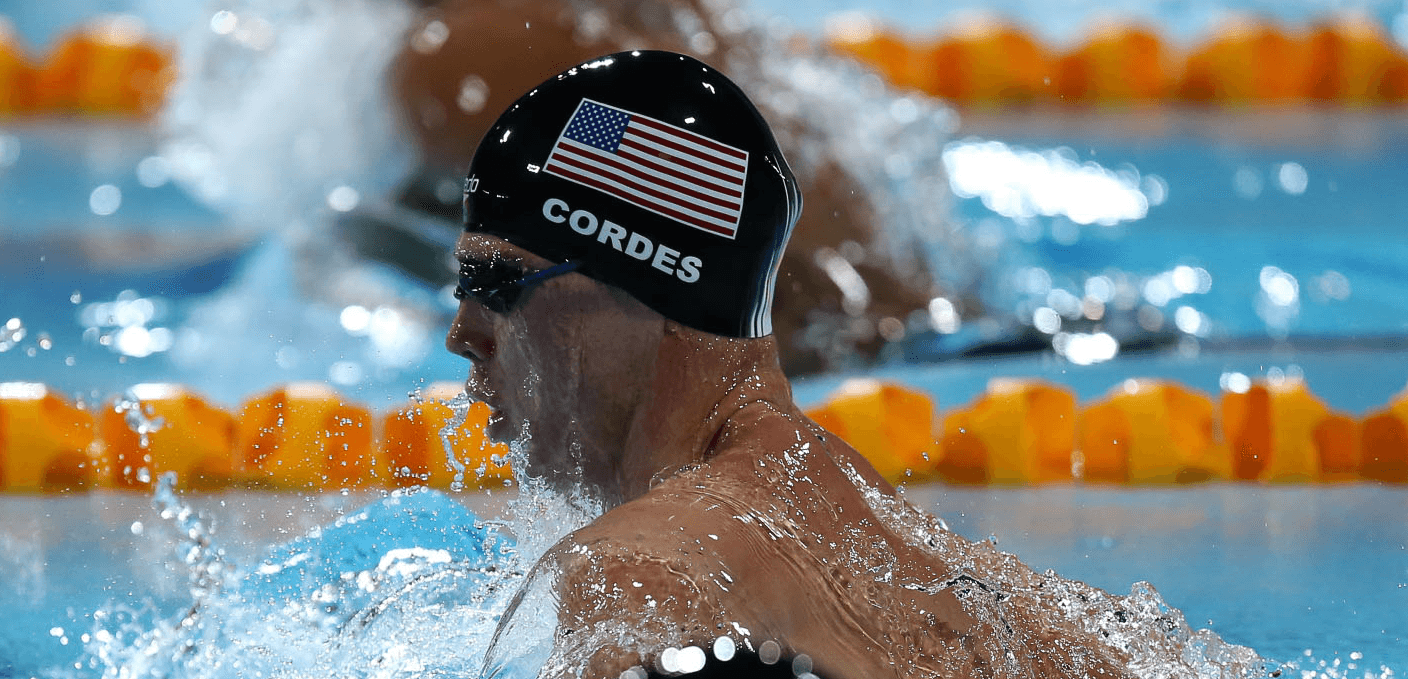 Kevin Cordes Sets American Record in the 50 Breast