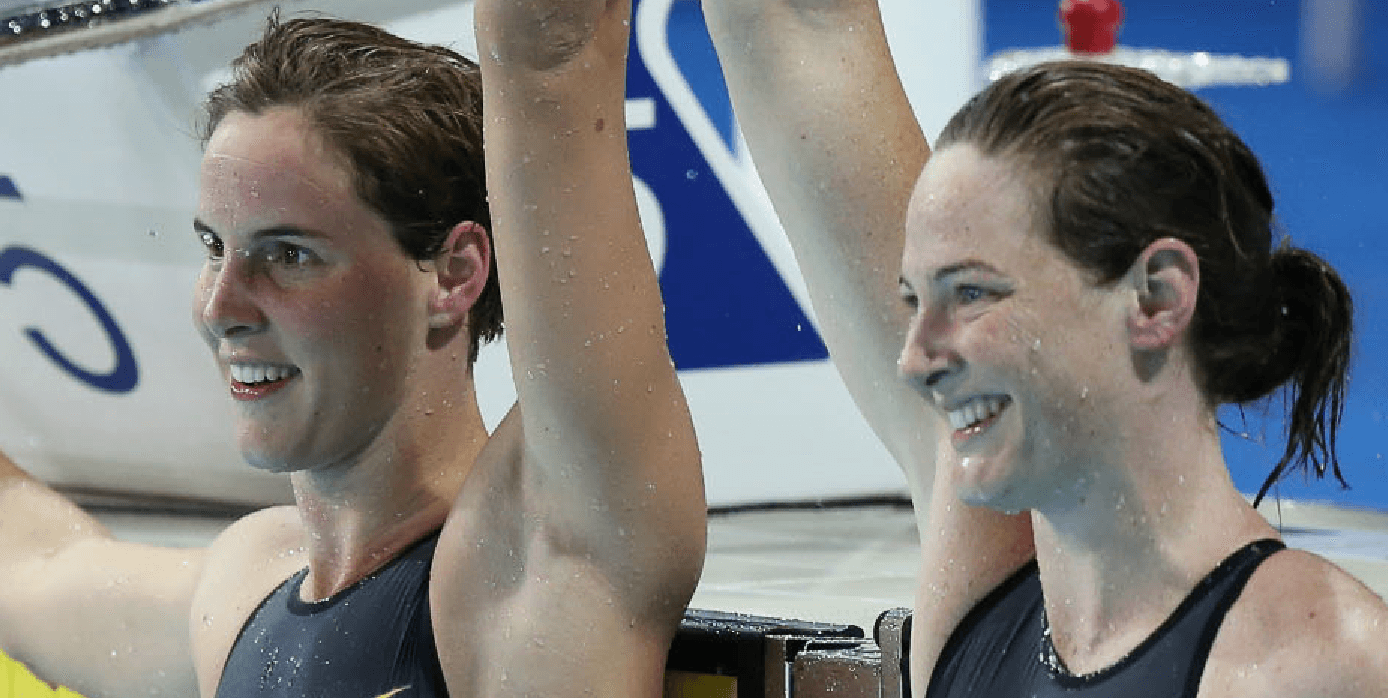 U.S. adds 10 more medals, Australia cuts gold gap to 3 with one day of Pan Pacs remaining