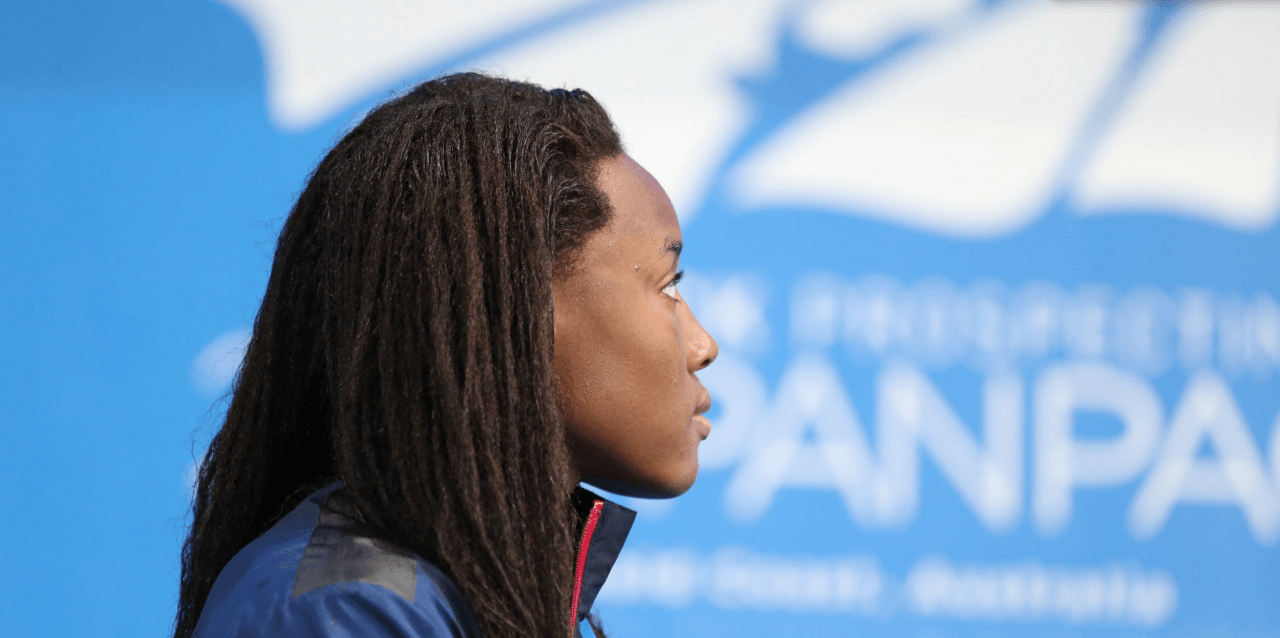 Simone Manuel Breaks National Age Group Record, Swims 2nd-Fastest Time Ever, in 50 Free