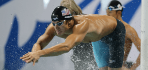 Olympic Champion Nathan Adrian and the SPEEDO POOL TOGETHER Fundraiser